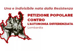 Petizione popolare al Consiglio regionale della Lombardia